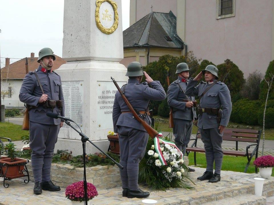 Képes beszámoló az első világháborús hősök emlékművének felújítást követő avatásáról